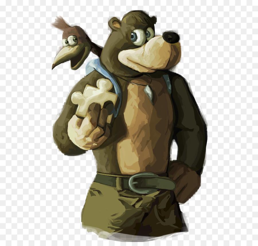 Banjo-Kazooie: Nuts & Bolts Bear Yooka-Laylee Bayonetta - vũ