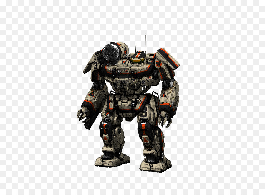 Mechwarrior 4 Mercenaries Robot png download - 538*642