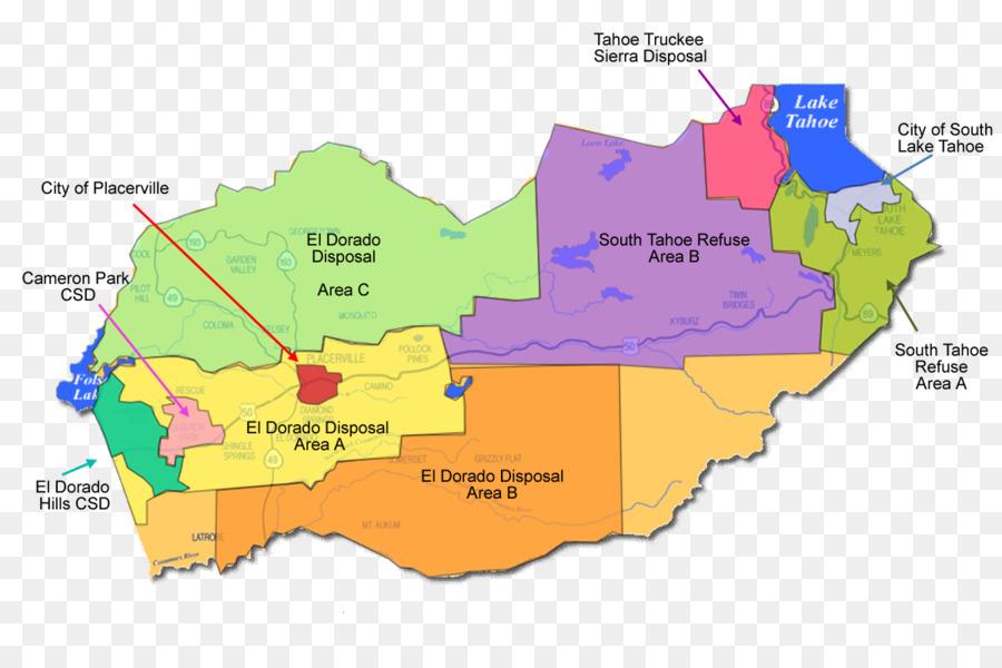 Kalifornien Karte.Karte El Dorado Hills Kalifornien El Dorado Disposal Image