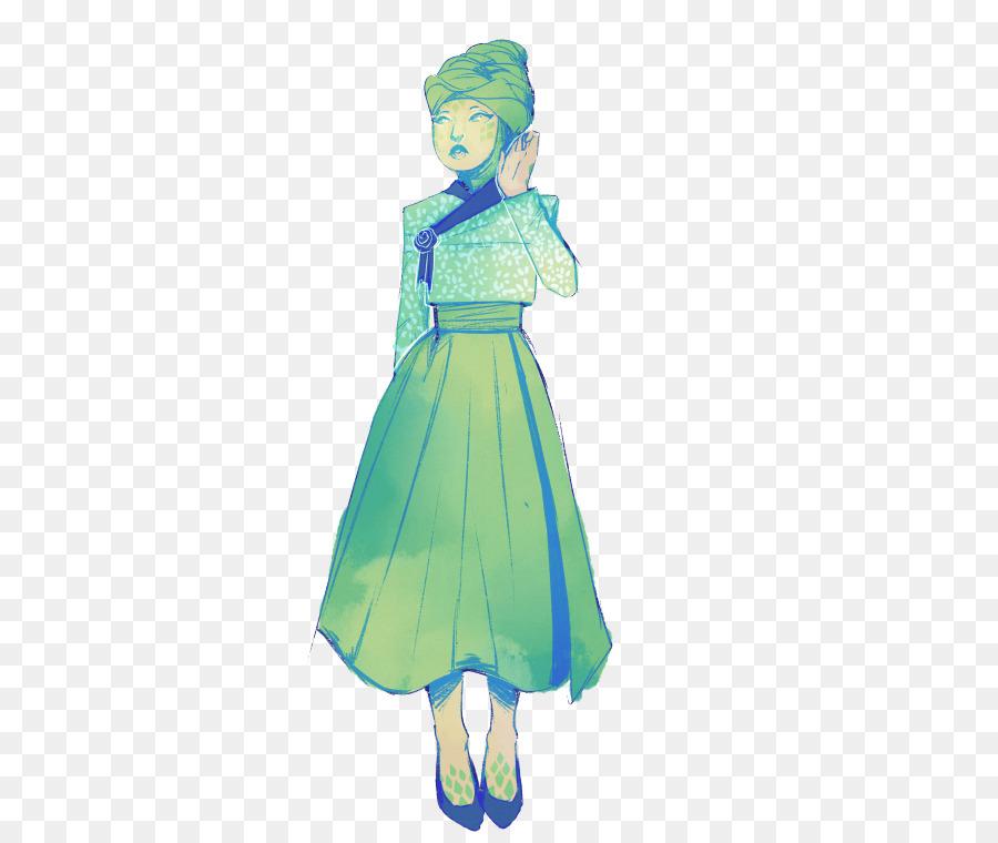 Kleid Kokerjurk Oberbekleidung Kostüm Illustration Fletchling