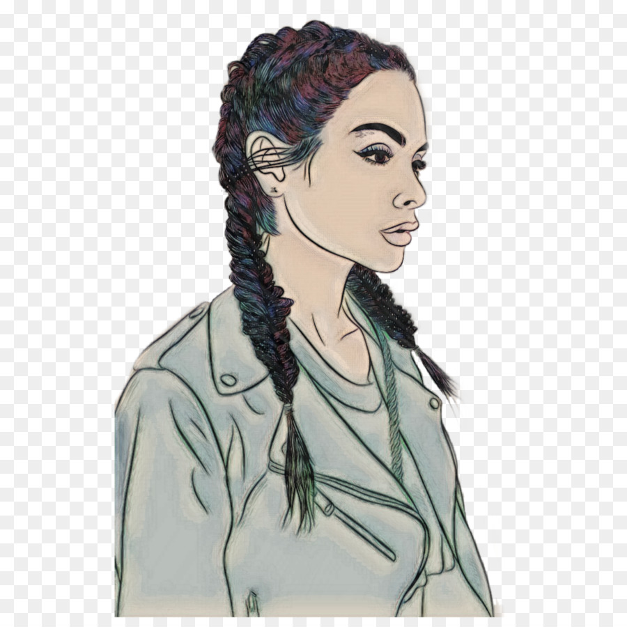 Hairstyles Drawing Png Sketch Png Download 1773 1773 Free