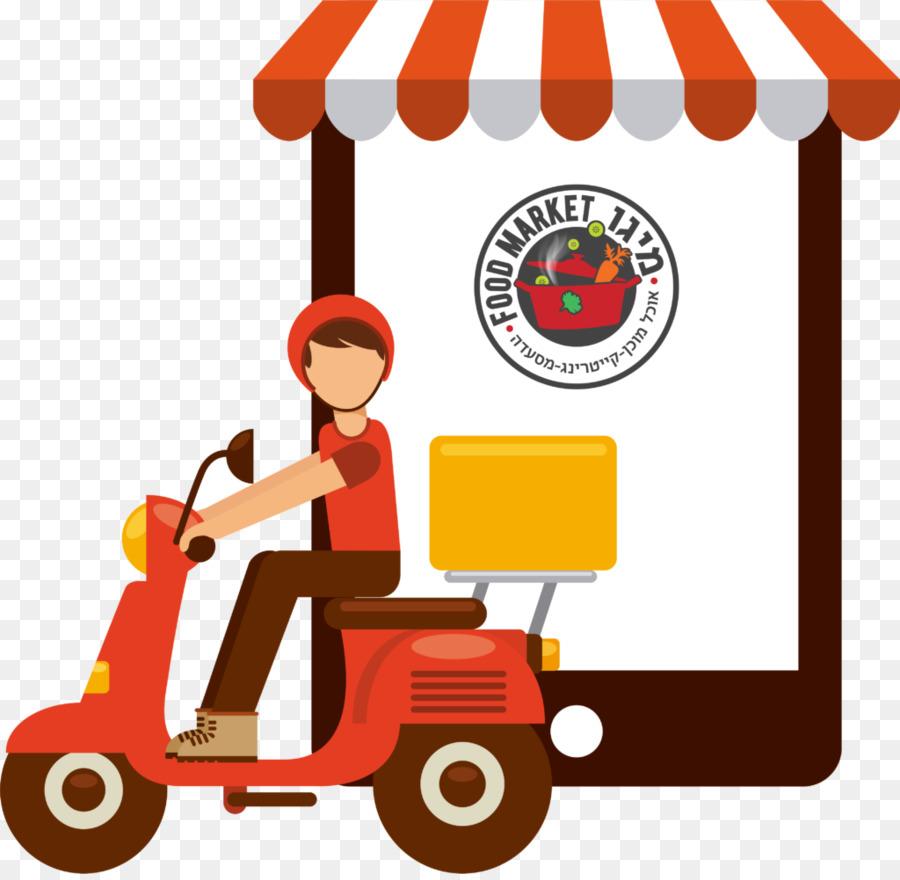 Nhà hàng giao đồ ăn Pizza - doordash logo giao hàng thực
