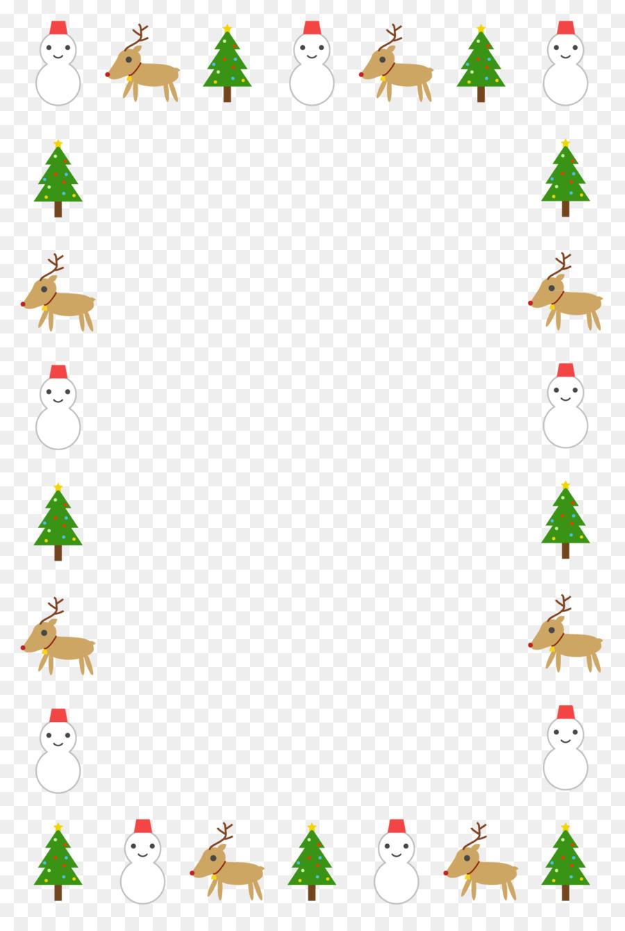 Leasing Weihnachtsbaum.Weihnachtsmann Weihnachten Illustration Weihnachtsbaum Rentier