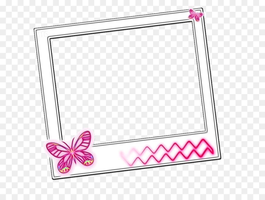 Pink Background Frame png download - 900*675 - Free