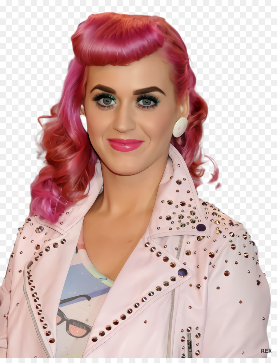 Katy Perry Hairstyle Short Hair Ponytail Png Download 1760 2276
